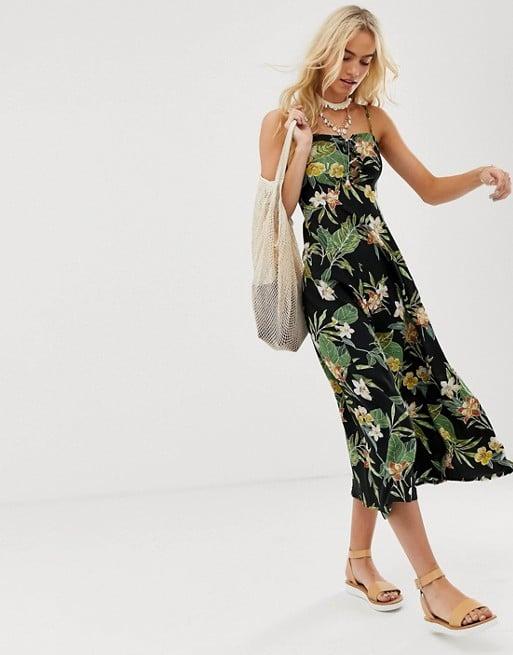 b33e2d3dc92 ASOS DESIGN Tropical Print Dress