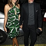 Liz Hurley and Patrick Cox