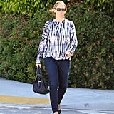 Jennifer Garner stepped out in LA for a meeting.