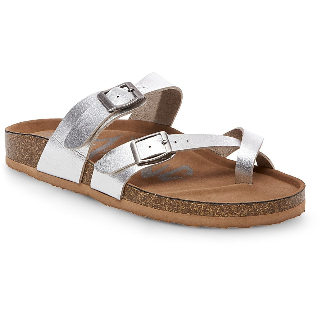 Mad Love Prudence Footbed Sandals