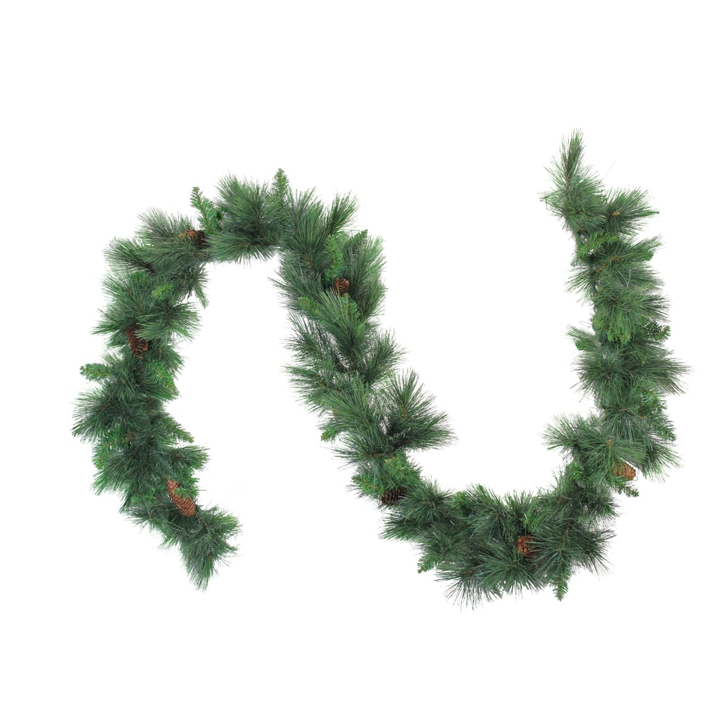 Northlight Unlit White Valley Pine Artificial Christmas Garland
