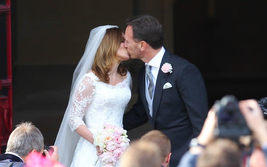 Geri Halliwell Wedding Pictures