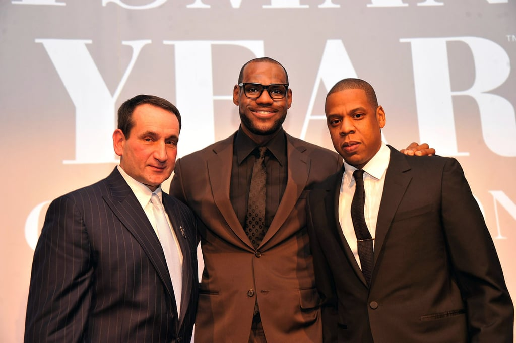 Beyoncé and Jay-Z Help Honour Their Pal LeBron James