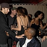 Chris Martin, Jay-Z, and Gwyneth Paltrow attended an afterparty for Jay-Z's September 2006 London concert at Royal Albert Hall.