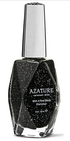Azature Black Diamond Nail Lacquer