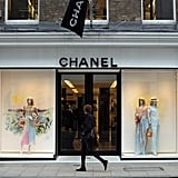 During World War II, Chanel closed her salon.