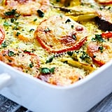 Hatch Green Chile and Tomato Egg Casserole