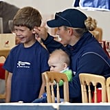 James, Viscount Severn and Zara Tindall