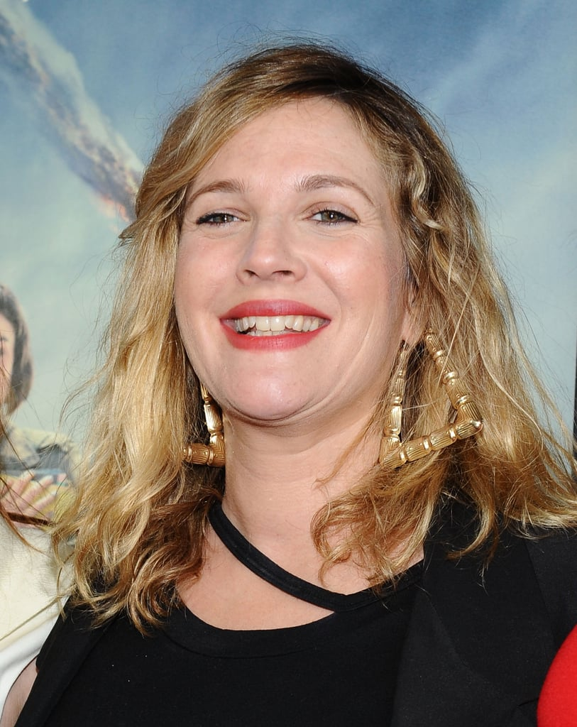Drew Barrymore had a laugh at the LA premiere of Seeking a Friend For the End of the World.