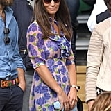 Wearing Beautiful Soul London at Wimbledon 2016.