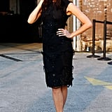 Sometimes, all you need is a little black dress and pointy-toe pumps to create an elegant ladylike look.