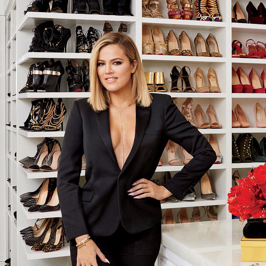 Khloes Crazy Organized Master Closet Might Just Beat Out Mariah