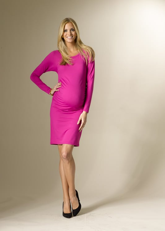 Rosie Pope Long Sleeve Cinched Dress