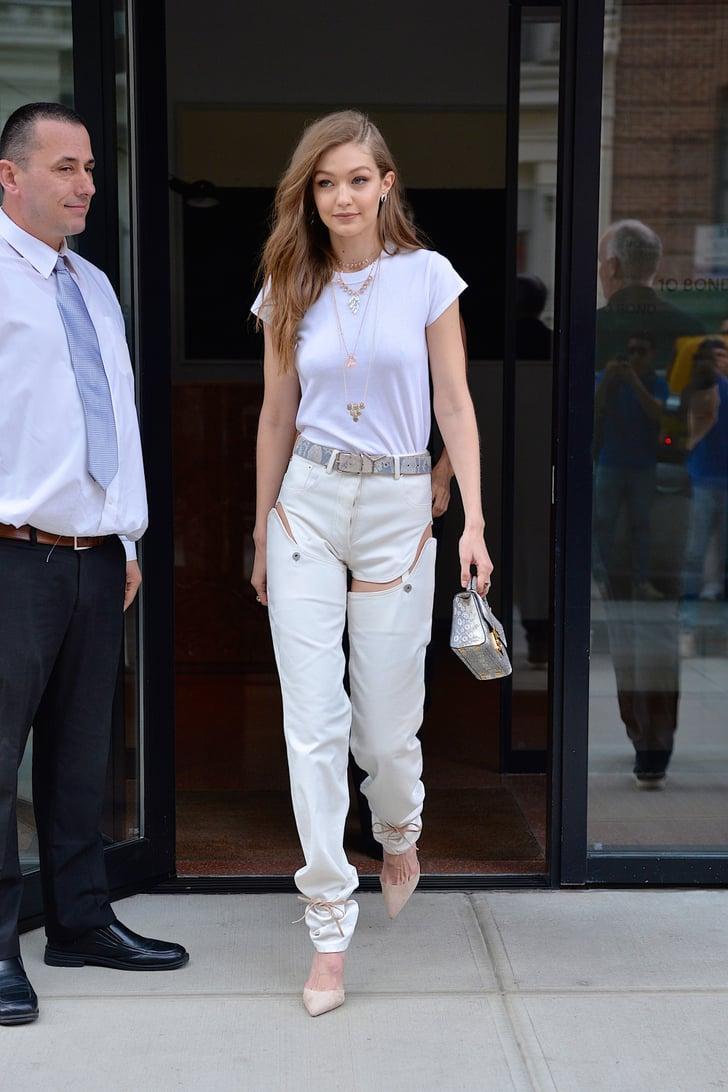 Gigi Hadid Street Style Popsugar Fashion