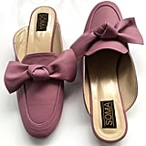 """""""After trying on a couple pairs of bow loafers, I've finally found my favorite pair from Soma ($70). The flats take one to three weeks to make by hand, meaning the craftsmanship will be top notch."""" — ML"""