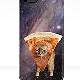 Pizza + space + an adorable kitty = one seriously cool phone case ($37).