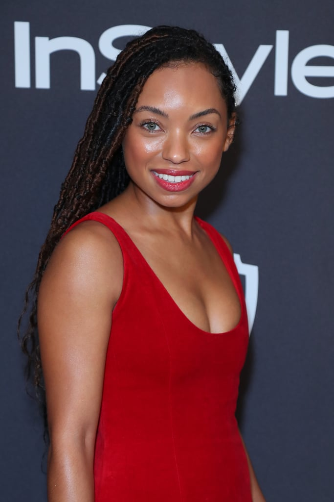 Logan Browning in Faux Locs (Colour Mix of 2 and 4)