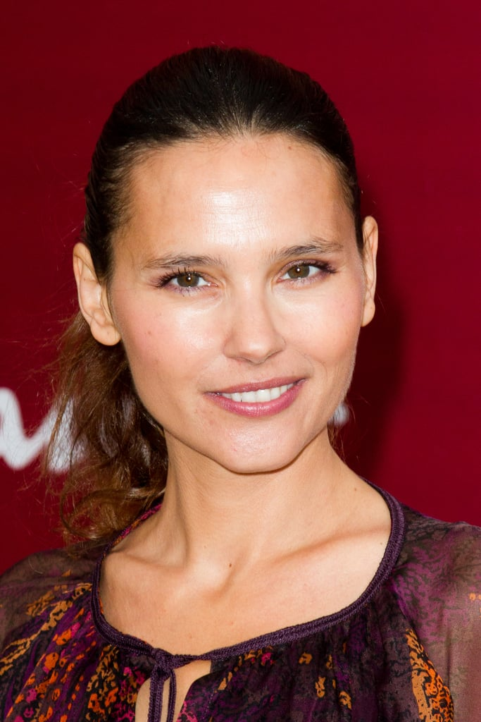 virginie ledoyen gave a smile at the salvatore ferragamo resort ferragamo fashion show paris. Black Bedroom Furniture Sets. Home Design Ideas