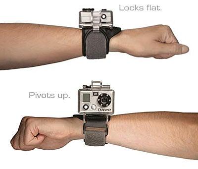 Wrist-Strapped Waterproof Camera