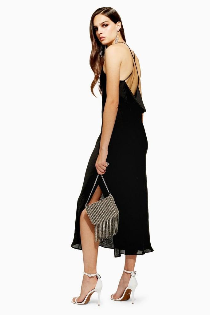 72a365cd964 Topshop Plain Satin Slip Dress