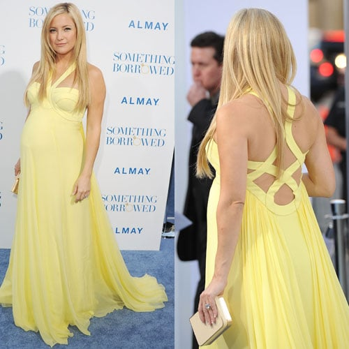 What Do You Think of Kate Hudson's Versace Yellow Dress?