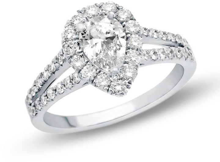 Zales Pear-Shaped Diamond