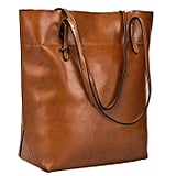 S-Zone Vintage Large Leather Tote