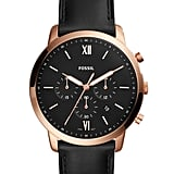 Fossil Men's Neutra Chronograph Leather Watch