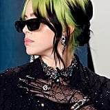 """Billie Eilish's """"Drenched"""" Neon Hair at the 2020 Vanity Fair Oscars Party"""