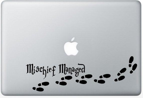Mischief Managed Decal  ($3)