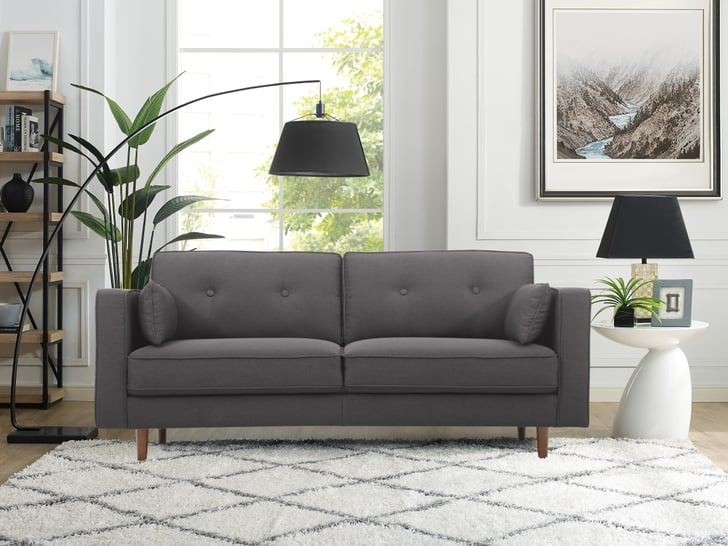 Lifestyle Solutions Tanany Mid Century Sofa Best Cheap