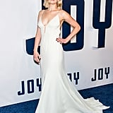 We couldn't take our eyes off Jennifer at the New York premiere of Joy, where the actress slipped into a cream Dior gown and accessorized with dangling earrings.
