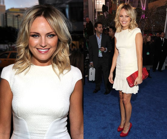 Malin Akerman in J. Mendel at 2011 People's Choice Awards