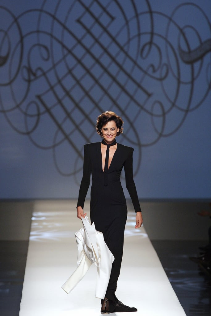"Ines de la Fressange Trumps ""All Those Sexy Little Things"" at Gaultier Spring 2009"