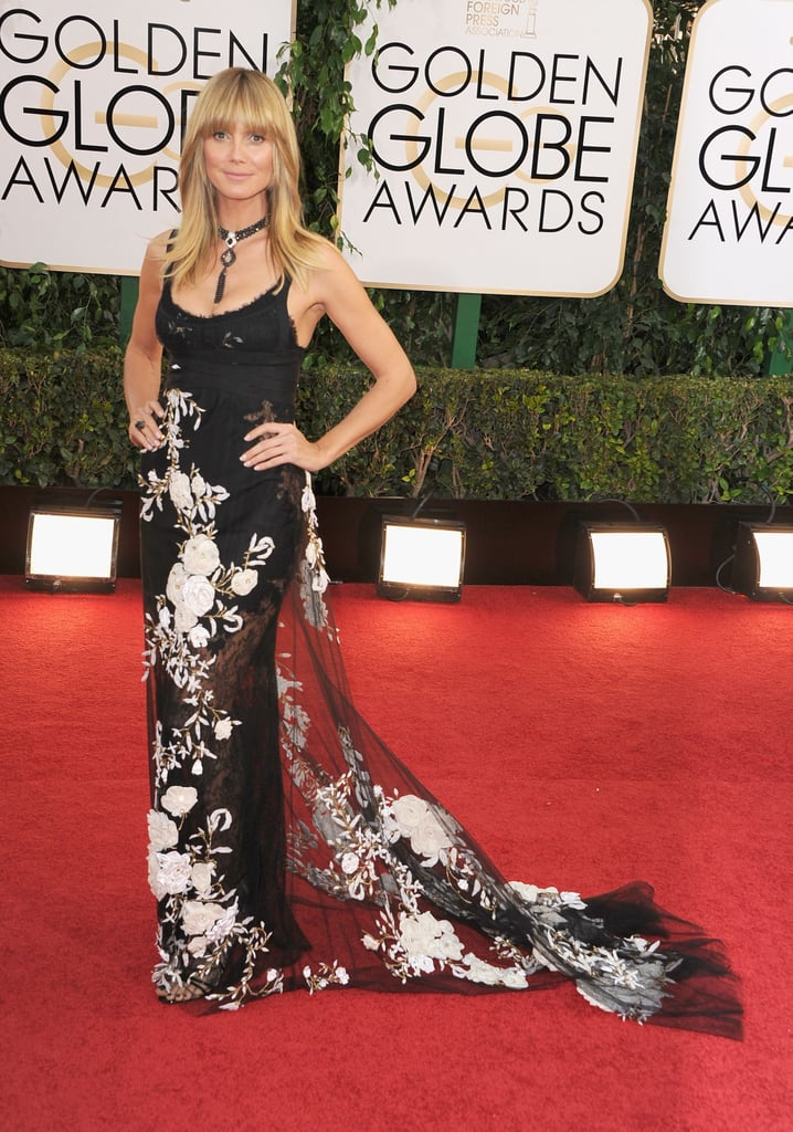 Heidi Klum at the Golden Globes 2014
