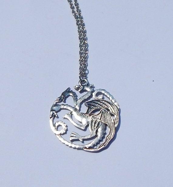House Targaryen Dragon Necklace