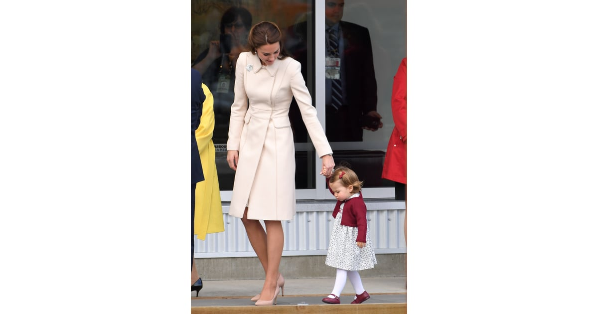 Princess Charlotte's Cutest Pictures in Canada 2016 | POPSUGAR Celebrity Photo 12