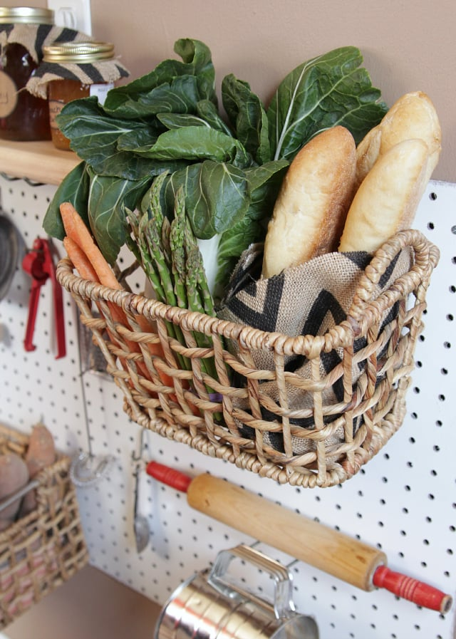 Use Pretty Baskets for Loose Goods