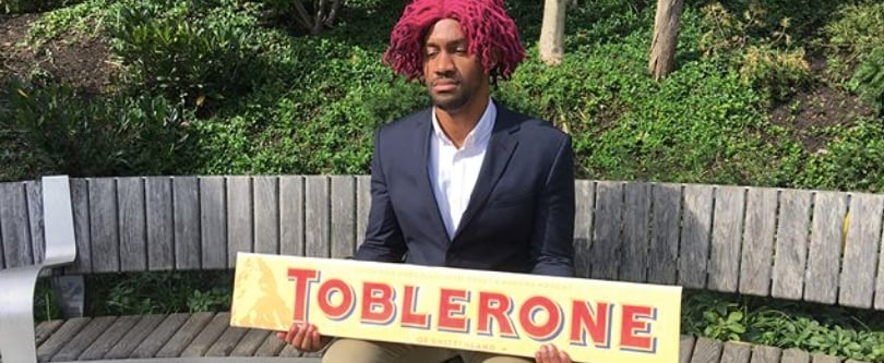 Anime Fans Are Already Cosplaying Neo Yokio — Complete With Giant Toblerones