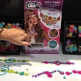 Your creative child can use the Linx Infinity kit to make beautiful jewelry that is easy to snap together and wear with their favorite fashion pieces but can also be taken apart to build something new when the trends change.