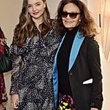 Miranda Kerr and Diane von Furstenberg at Diane's 2020 Oscars Luncheon