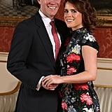 Who: Princess Eugenie and Jack Brooksbank