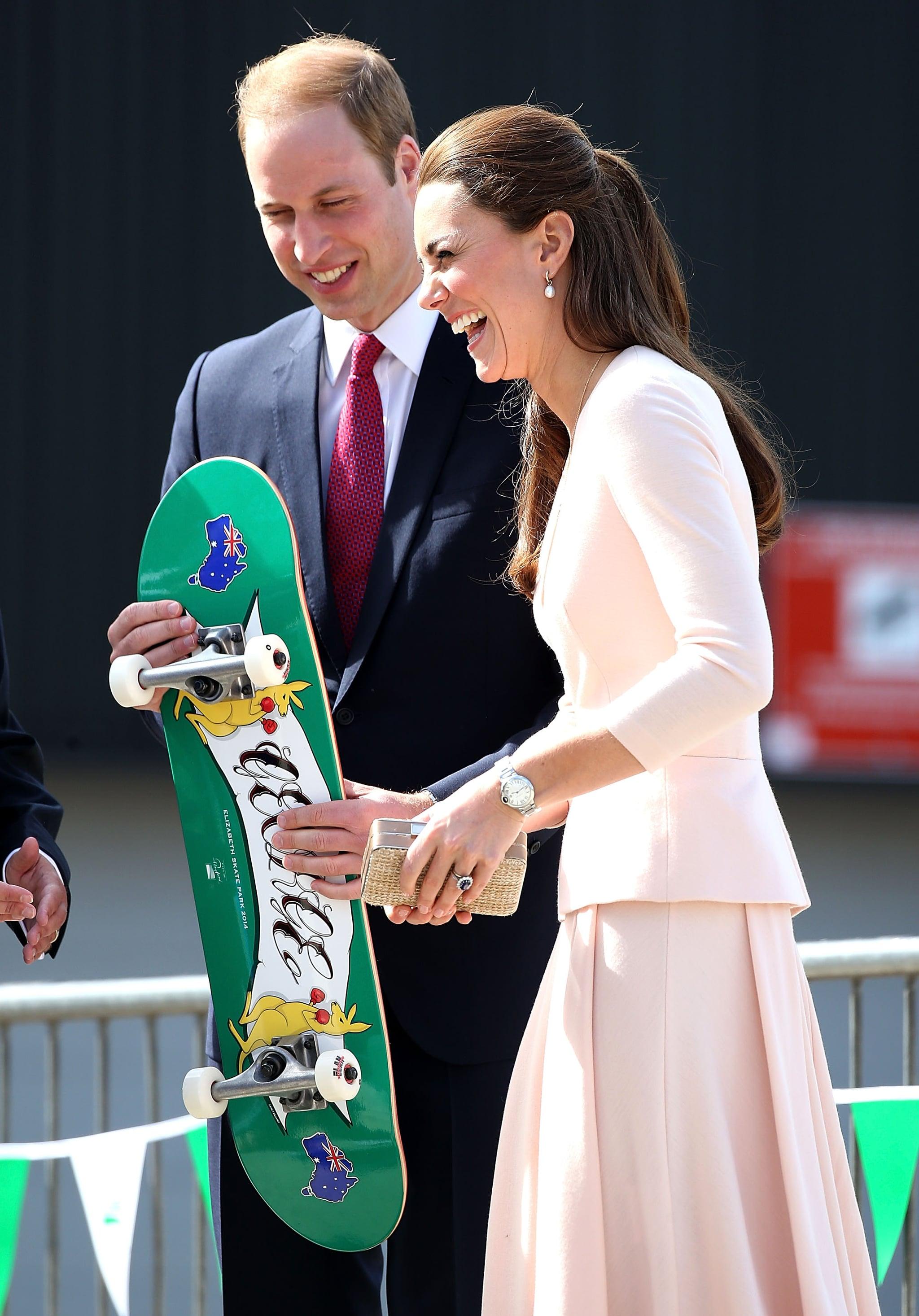 """William Skateboarding? Ha-ha-ha!"""