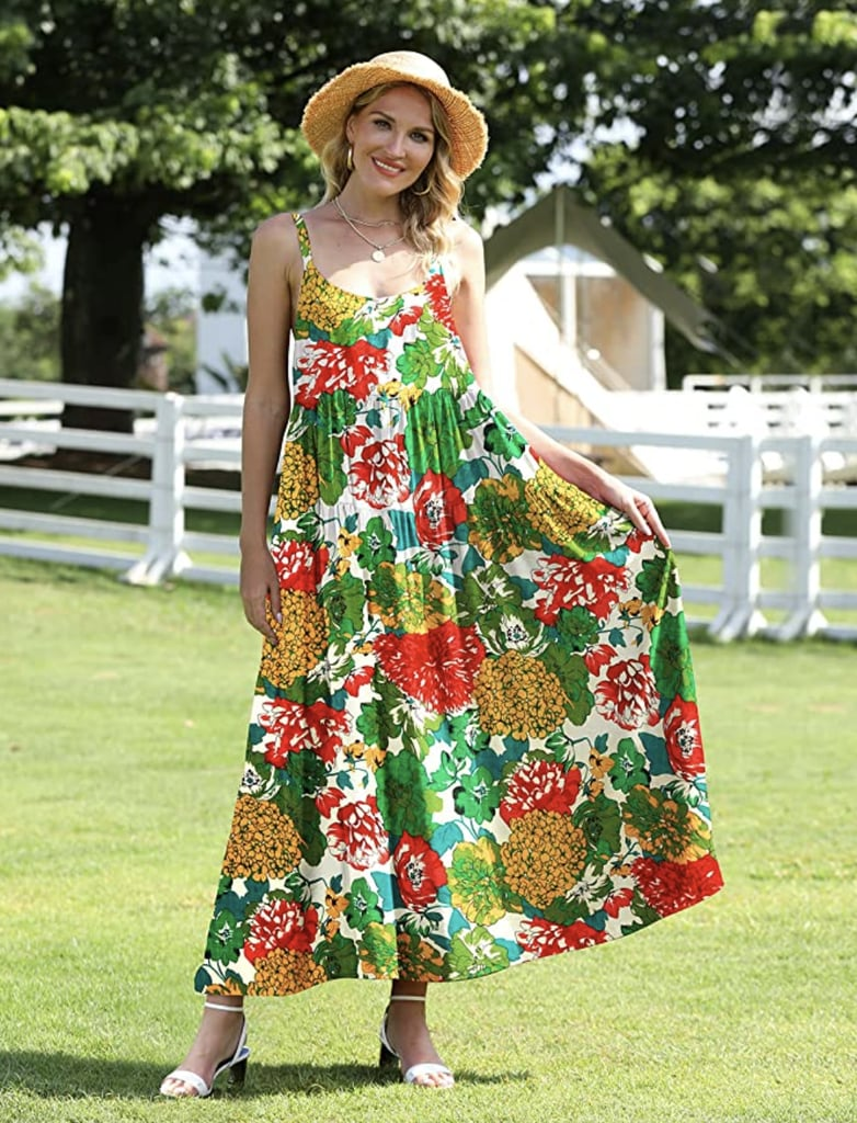 Loose and Comfy: Yesno Floral Maxi Dress