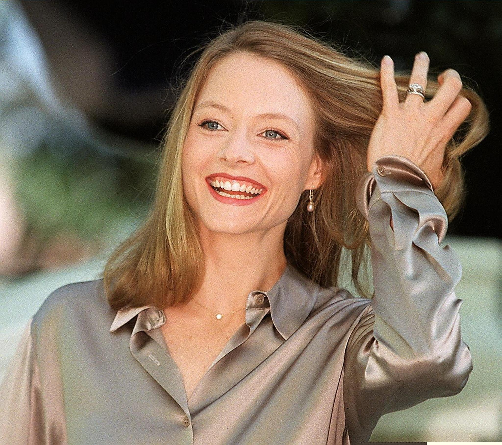 jodie foster 50 years of cannes red carpet beauty popsugar beauty. Black Bedroom Furniture Sets. Home Design Ideas