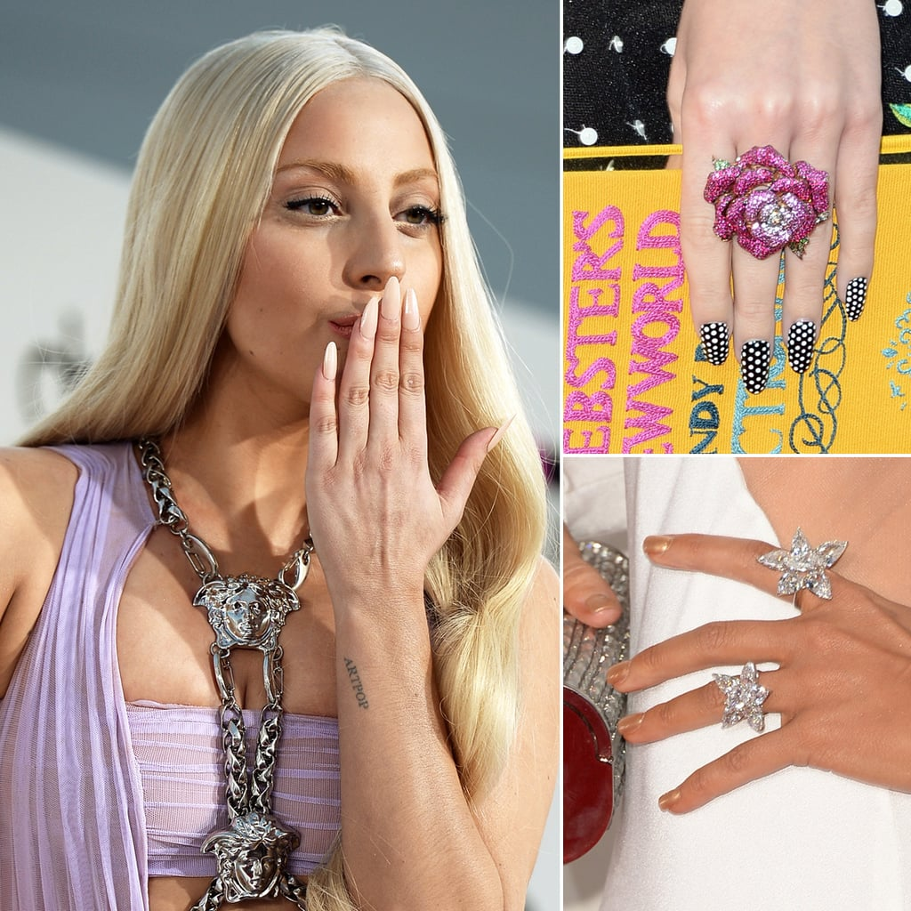 Celebrity Nails From the 2013 Award Shows