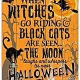 When Witches Go Riding Halloween Unframed Art
