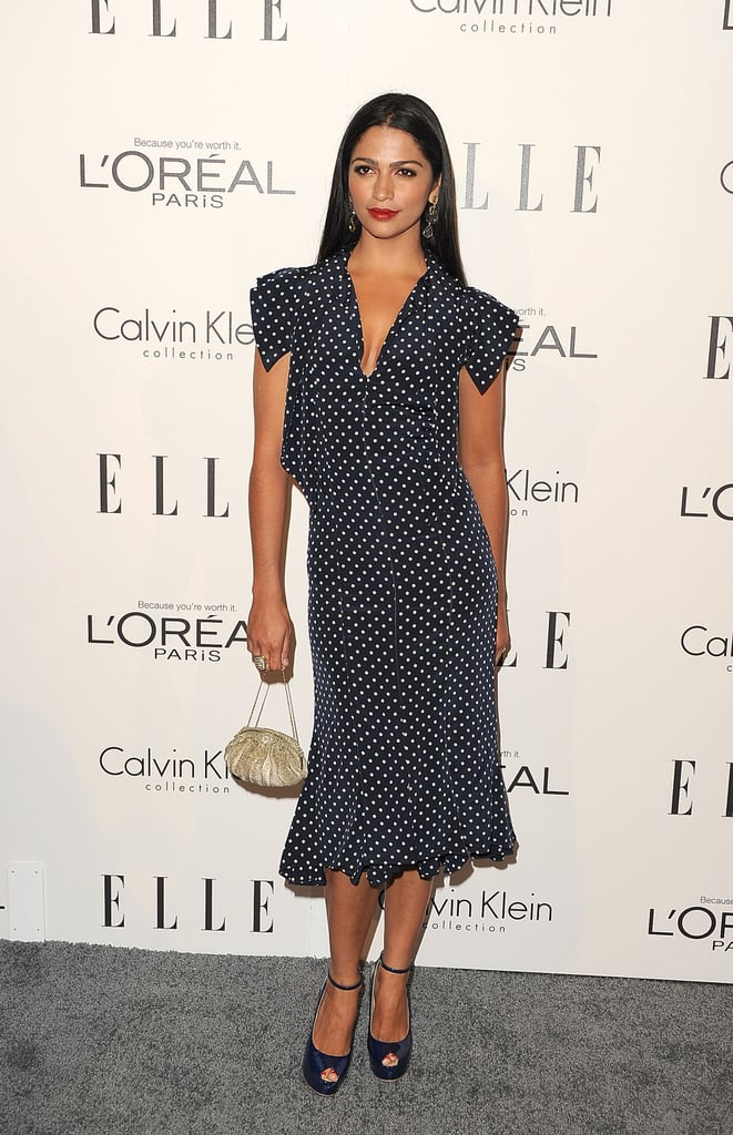 Camila Alves at Elle's Women in Hollywood Tribute.