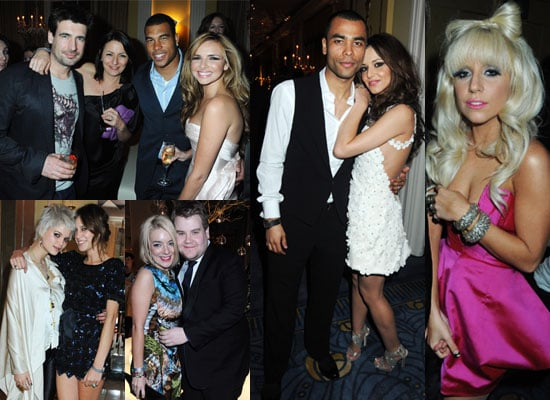 Photos of 2009 Brit Awards After Parties Including Girls Aloud, Lady GaGa, Estelle, Nicholas Hoult, James Corden, Sheridan Smith