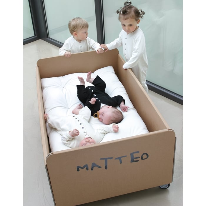 Customizable Cardboard Cot